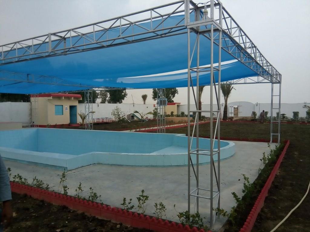 Qasar e Anis Farm House in Karachi, Sindh, Pakistan - Ghoomlo pk