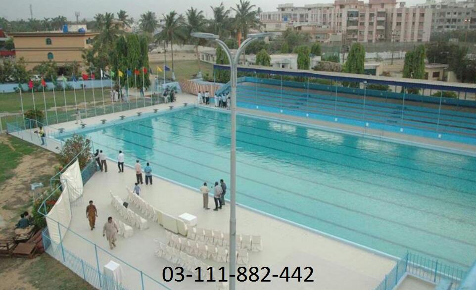 Karachi Sports Comoplex In Karachi Sindh