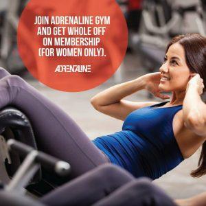 Adrenaline Gym Raana Khan Salon