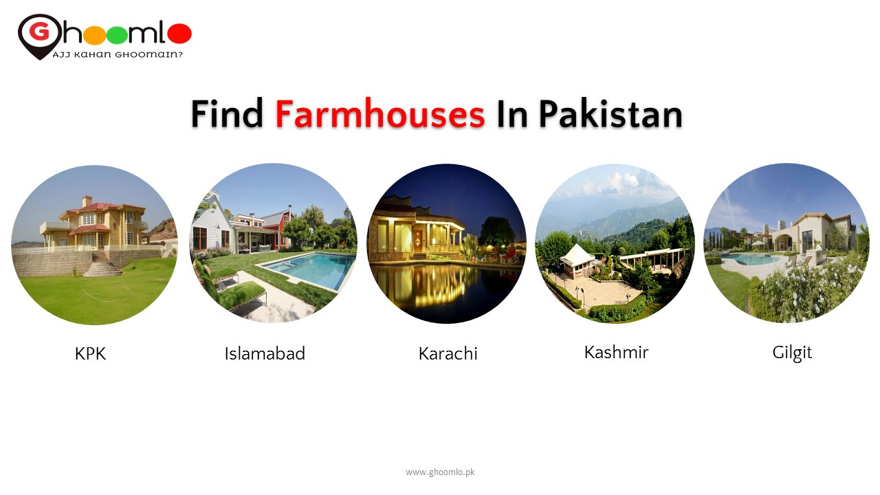 Find top Farmhouses in Pakistan - Attractions in Pakistan by Ghoomlo pk