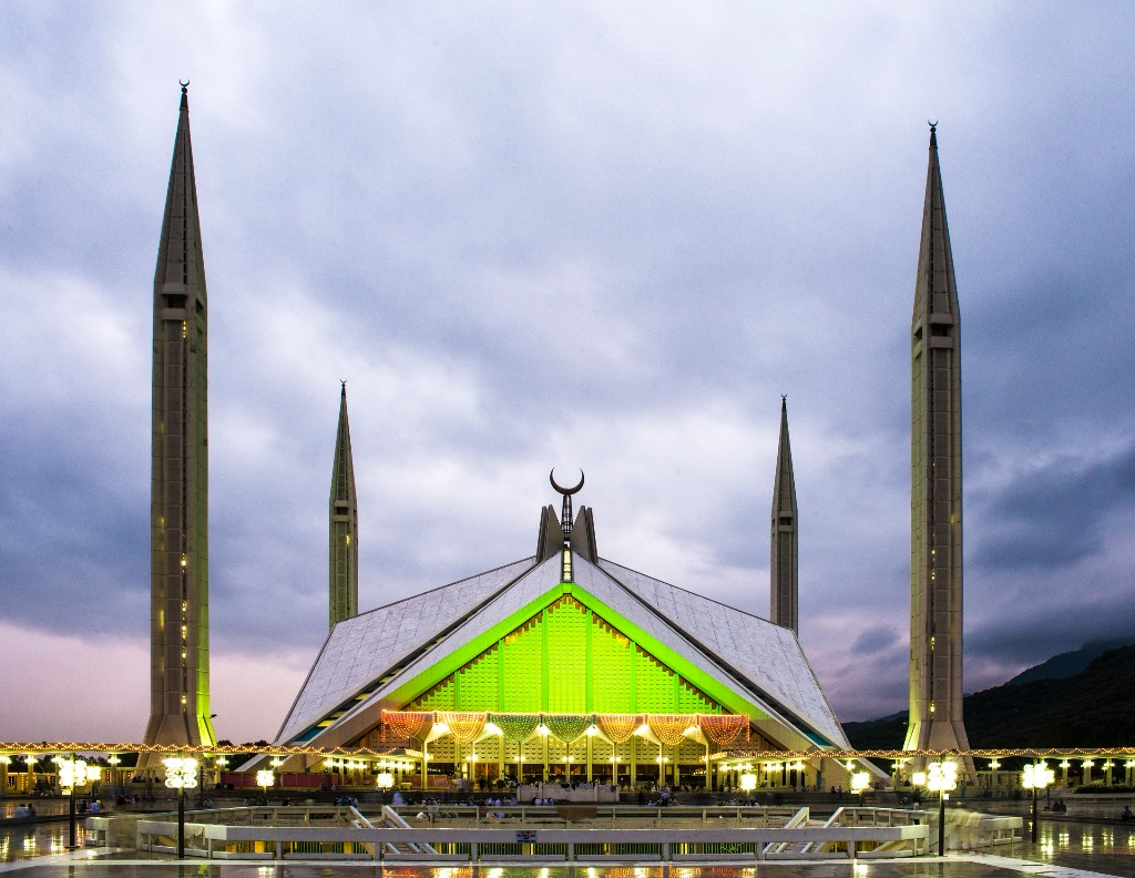 Faisal Mosque View Point