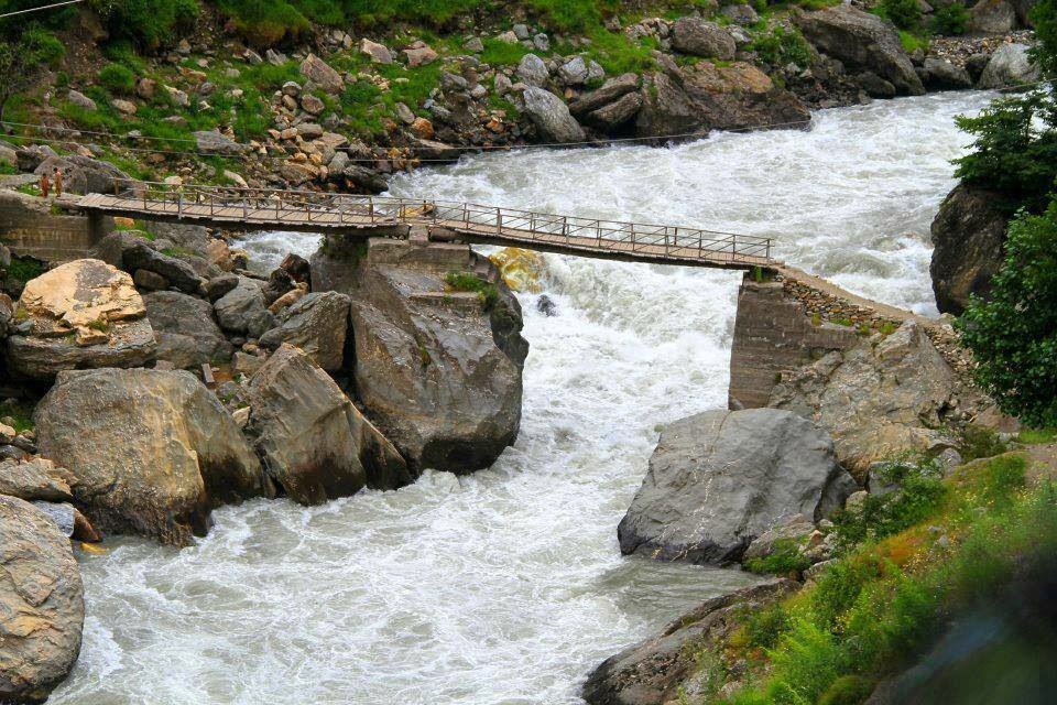 Kunhar River Bridge at KPK